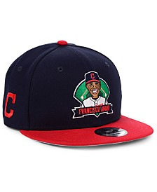 New Era Big Boys Francisco Lindor Cleveland Indians Lil Player 9FIFTY Snapback Cap