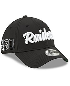 Oakland Raiders On-Field Sideline Home 39THIRTY Cap