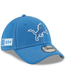 New Era Detroit Lions On-Field Sideline Road 39THIRTY Cap