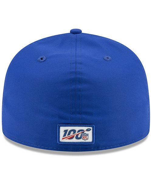 296ed3cc Buffalo Bills On-Field Sideline Home 59FIFTY-FITTED Cap