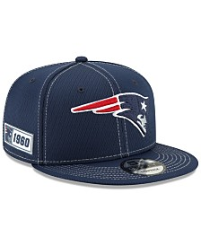 New Era New England Patriots On-Field Sideline Road 9FIFTY Cap