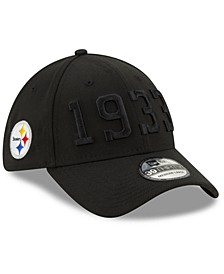 Pittsburgh Steelers On-Field Alt Collection 39THIRTY Stretch Fitted Cap