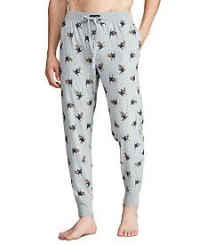 Polo Ralph Lauren Men's Ski Bear Pajama Joggers, Created for Macy's