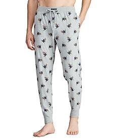 Polo Ralph Lauren Men's Ski Bear Pajama Joggers, Created for Macy's