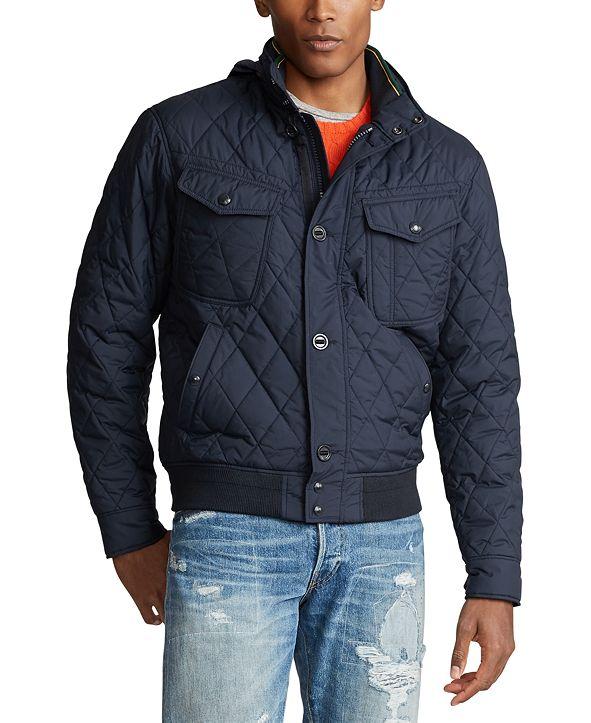 Polo Ralph Lauren Men's Quilted Bomber Jacket