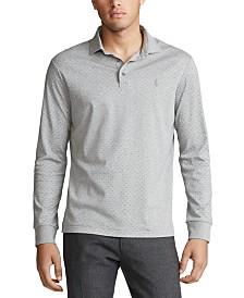 Polo Ralph Lauren Men's Soft-Touch Knit Long Sleeve Polo Shirt