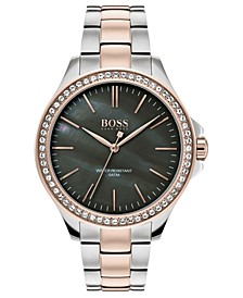 Women's Victoria Two-Tone Stainless Steel Bracelet Watch 36mm