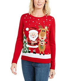Friendly Santa Sweater, Created For Macy's