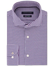 Men's Slim-Fit Non-Iron THFlex Supima® Performance Stretch Check Dress Shirt
