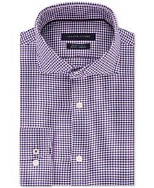 Men's Slim-Fit Non-Iron THFlex Supima® Performance Stretch Check Dress Shirt