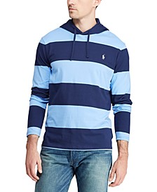 Men's Hooded Stripe T-Shirt