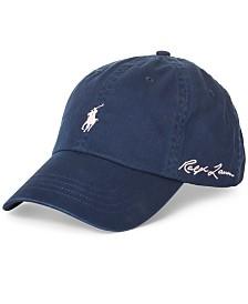 Polo Ralph Lauren Men's Pink Pony Baseball Cap