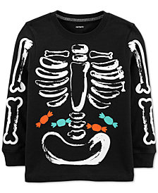 Carter's Baby Boys Glow-in-the-Dark Skeleton T-Shirt