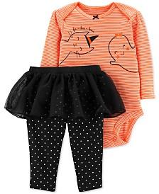 Carter's Baby Girls 2-Pc. Fa-Boo-Lous Bodysuit & Tutu Pants Set