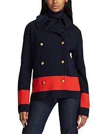 Colorblocked Peacoat