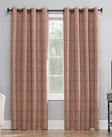 Evie Medallion Jacquard Blackout Curtain Collection