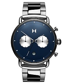 MVMT Blacktop Astro Blue Stainless Steel Bracelet Watch 47mm