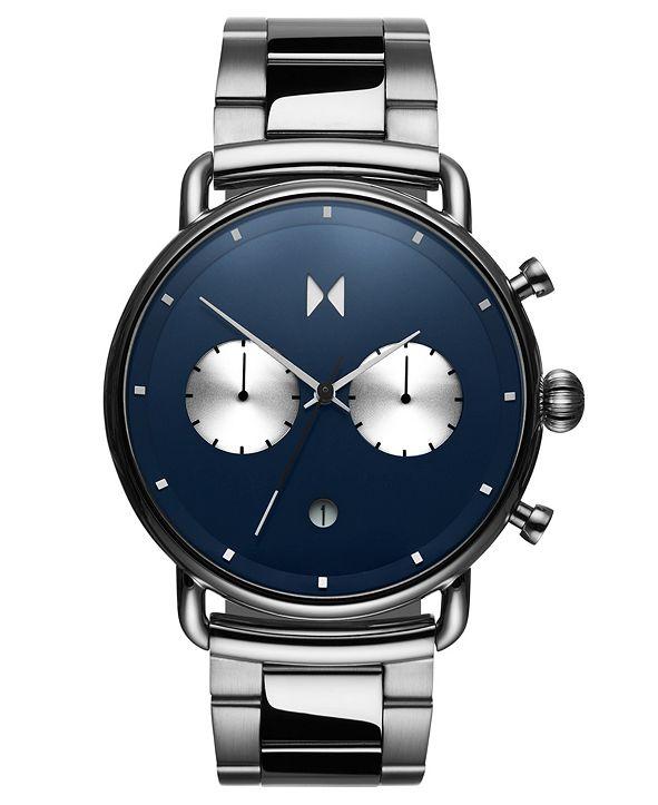 MVMT Blacktop Astro Blue Stainless Steel Bracelet Watch 47mm