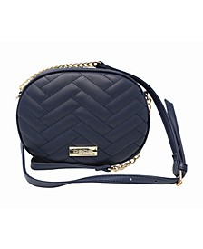 Sophia Quilted Canteen Crossbody