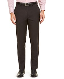 Men's Classic-Fit UltraFlex Stretch Mini Houndstooth Dress Pants