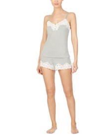 Lauren Ralph Lauren Lace-Trim Cami & Shorts Sleep Set