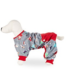 Matching Family Pajamas Happy Pawlidays Pet Pajamas, Created for Macy's