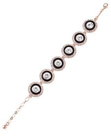 12K Rose Gold-Plated Bracelet