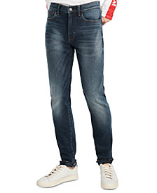Tommy Hilfiger Men's Slim-Fit Tapered Jeans, Created For Macy's