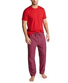Men's Plaid Pajama Set