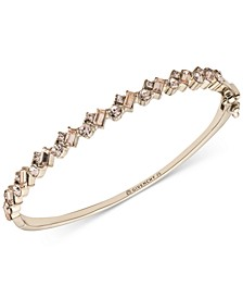 Crystal Cluster Bangle Bracelet