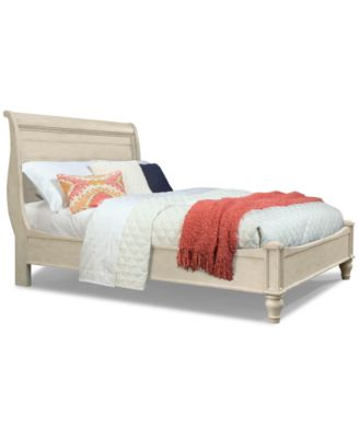 Cottage Solid Wood Queen Bed