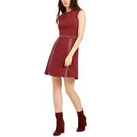 Macys deals on Michael Michael Kors Pyramid Studded Dress