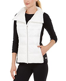 Funnel-Neck Vest
