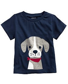 First Impressions Baby Boys Cotton Puppy T-Shirt, Created For Macy's