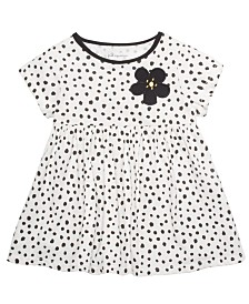 First Impressions Toddler Girls Cotton Animal-Print Tunic, Created For Macy's