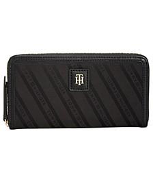 Julia Large Zip Wallet