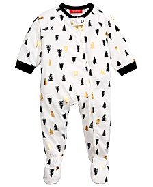 Matching Baby Tree-Print Footed Pajamas, Created For Macy's