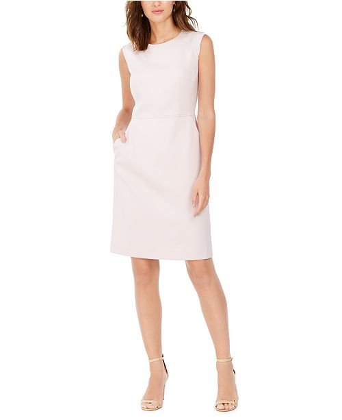 Anne Klein Seam-Waist Sheath Dress