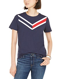 Varsity-Stripe T-Shirt