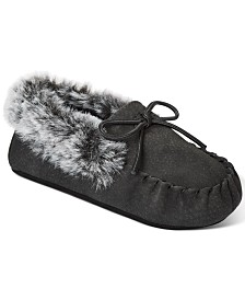 First Impressions Baby Boys or Girls Faux-Fur Slippers, Created For Macy's