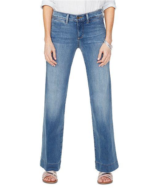 NYDJ Teresa Tummy Control Wide-Leg Jeans
