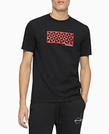 Calvin Klein Jeans Men's Quilted Kaleidoscope Graphic T-Shirt