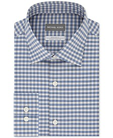 Michael Kors Men's Classic-Fit Airsoft Performance Stretch Gingham Shirt