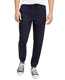 Men's Herringbone Jogger Pants, Created For Macy's