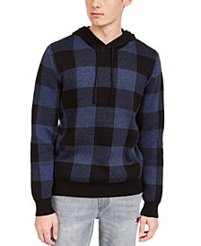 Men's Buffalo Plaid Hoodie, Created For Macy's