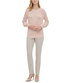Blouson-Sleeve Sweater