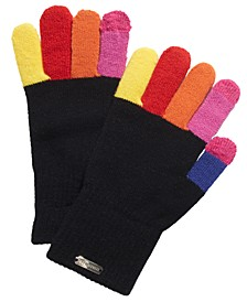 Multicolored-Finger Magic Gloves