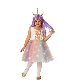 BuySeasons Little and Big Girl's Unicorn Child Costume