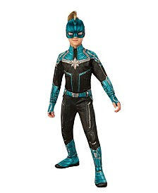 BuySeasons Girl's Captain Marvel Kree Suit Child Costume