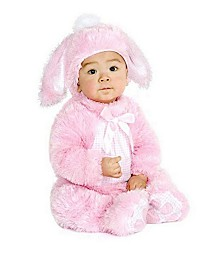 BuySeasons Plush Bunny - Infant-Toddler Costume